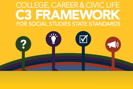 "Getting the most out of the new C3 Framework for Social Studies State Standards ""Inquiry Arc"""