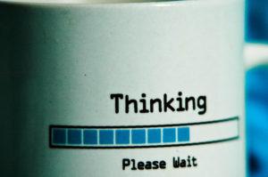 Thinking, PLease Wait