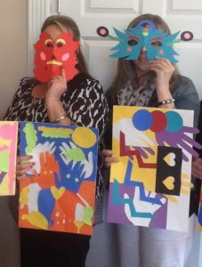 Teachers participating in Artful Reading PD