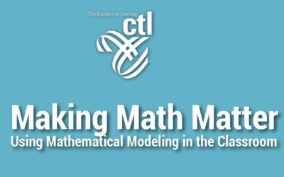 Making Math Matter Workshop Series