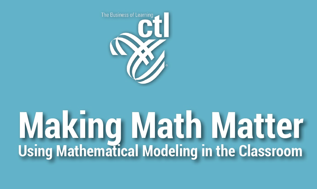 Making Math Matter Workshop Series