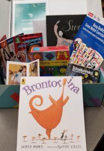 Brontorina, Artful Reading Module